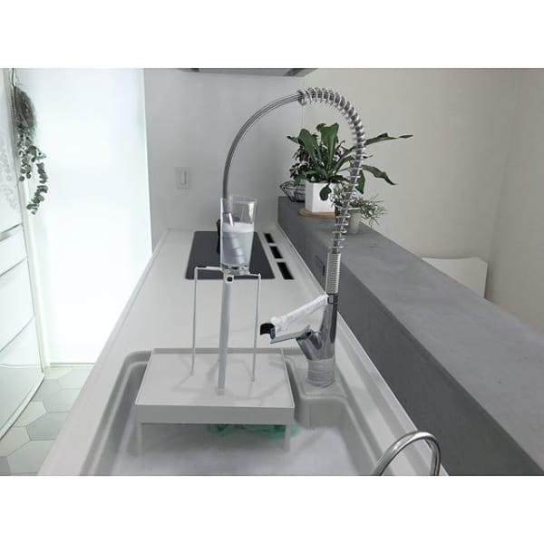 キッチン水栓の汚れを落とす漬け置き洗い方法
