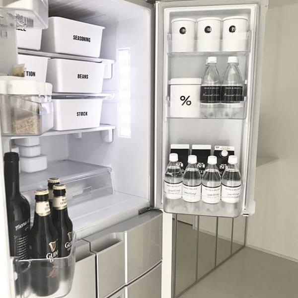 セリアのタッパーで薬味を冷蔵庫に収納