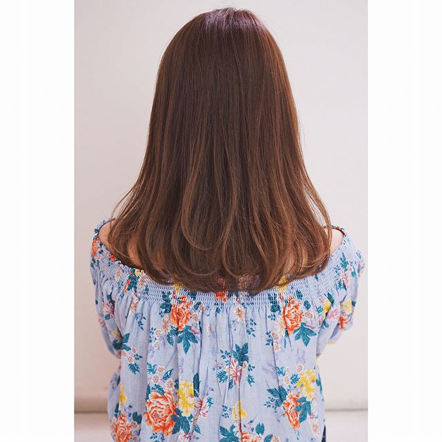 40代女性におすすめの髪色22