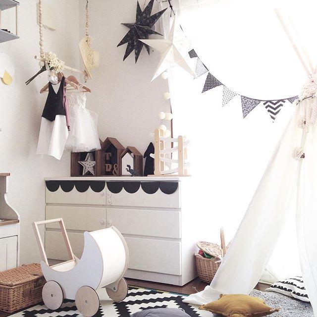 乙女心をくすぐるロマンチックな子供部屋