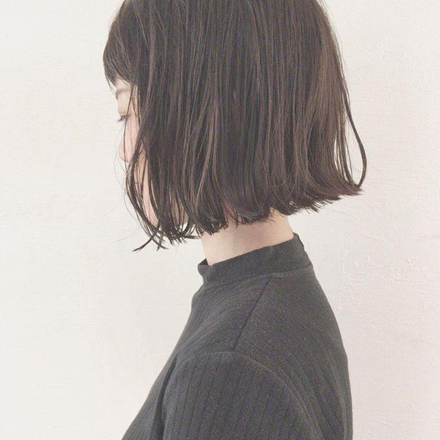 30代女性 髪色 アッシュ2