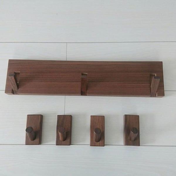 無印「壁に付けられる家具」でどこでもハンガー