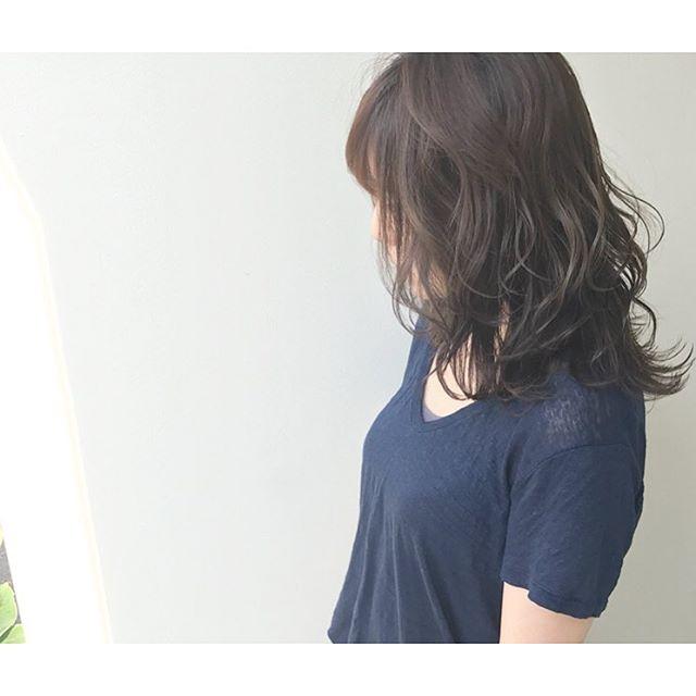 30代女性に似合うヘアカラー4
