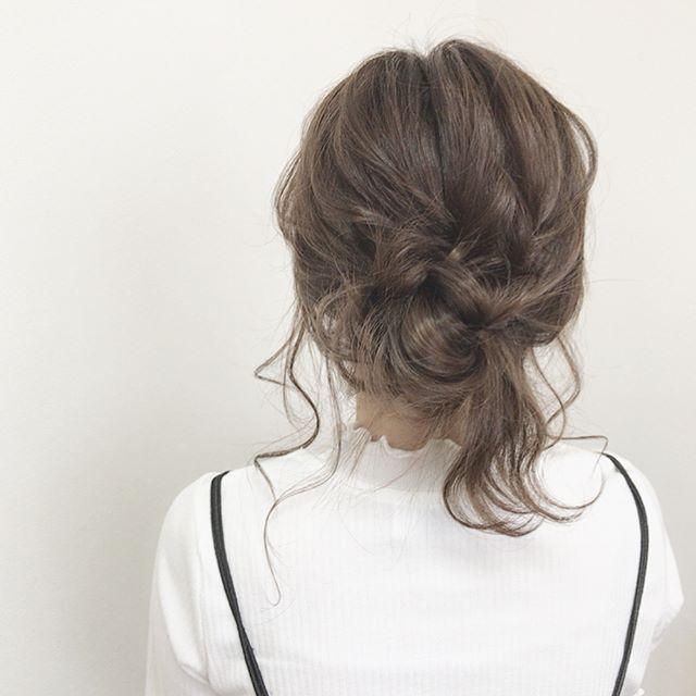 30代女性に似合うヘアカラー24