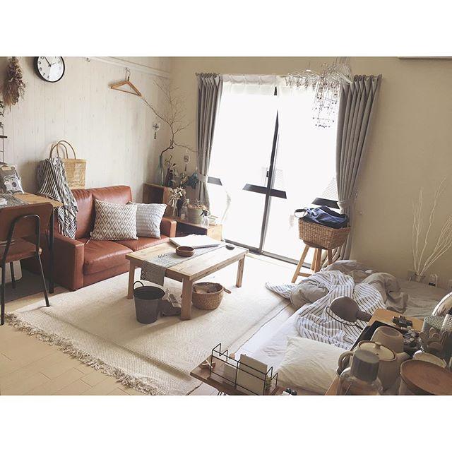 背の低い家具をレイアウト
