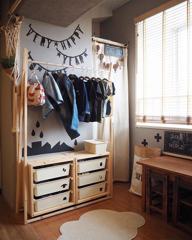 6畳 子供部屋レイアウト 二人部屋5