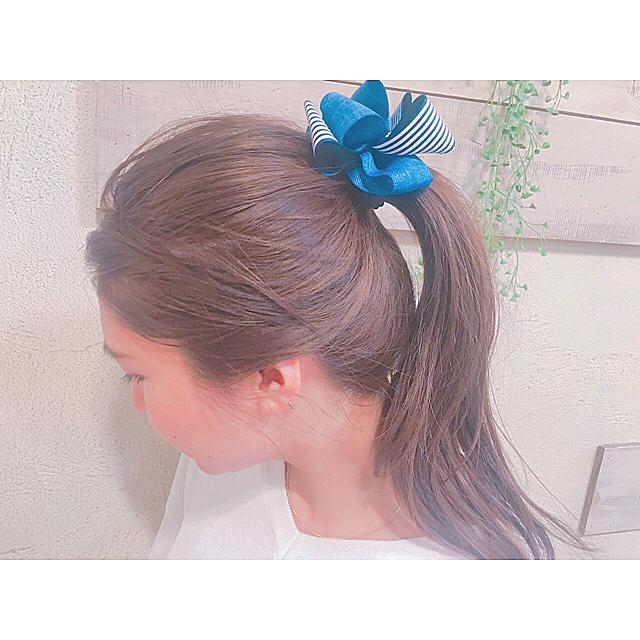 40代女性のヘアアレンジ ミディアム6