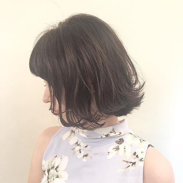 30代女性に似合うヘアカラー2