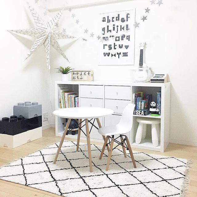 楽しく遊べて勉強もできる素敵な子供部屋