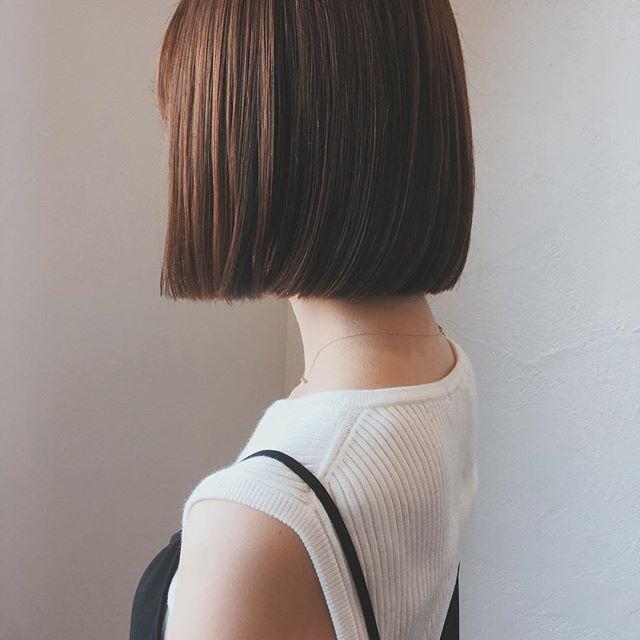 30代女性 髪色 ブラウン2