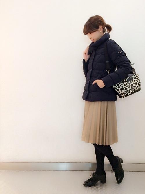 レザー スカート コーデ7