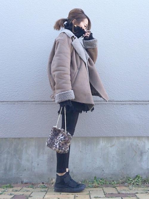 名古屋 1月 服装 パンツコーデ2