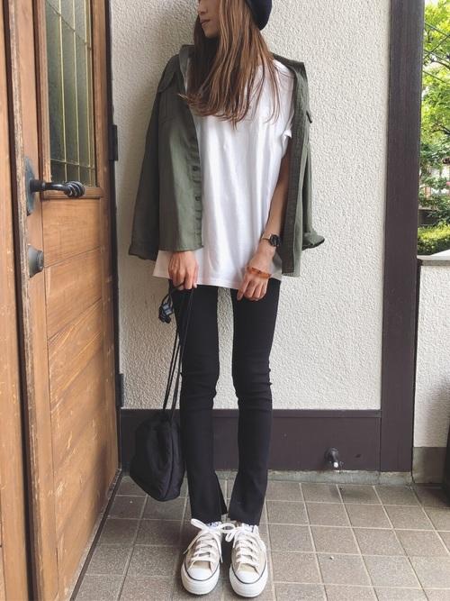 【ユニクロ】ツイルワークシャツ