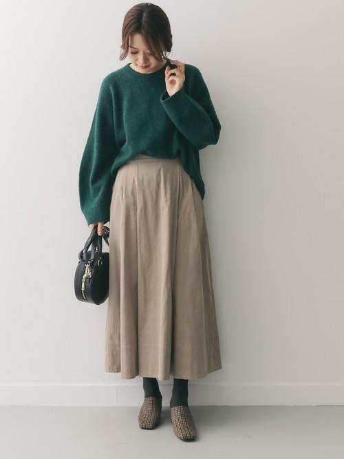 北海道 1月 おすすめ 服装 スカートコーデ