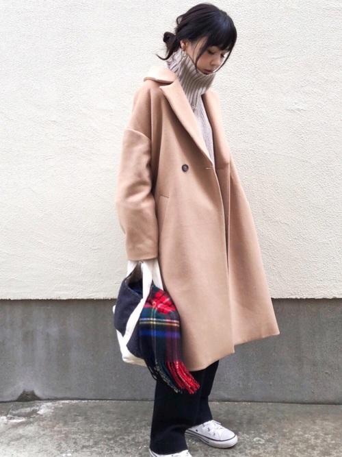 東京 1月 おすすめ 服装 パンツコーデ2