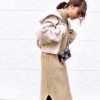 しまむらワンピースの冬コーデ特集♡30代40代レディースのきれいめスタイル♪