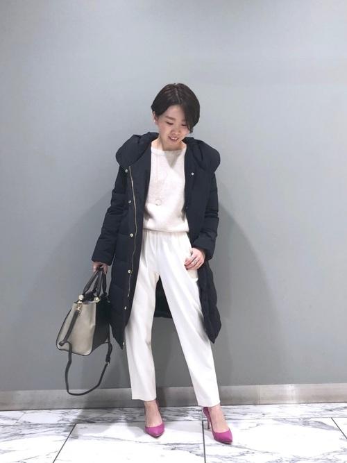 名古屋 1月 服装 パンツコーデ4