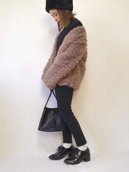 名古屋 2月 服装 パンツコーデ8