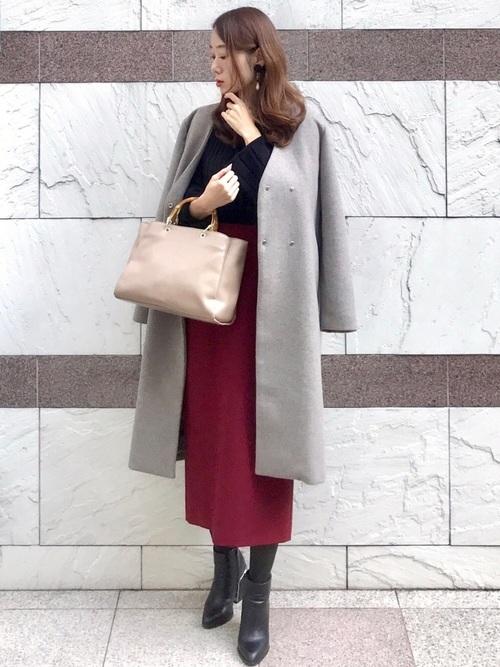 40代 オフィスカジュアル スカートコーデ3