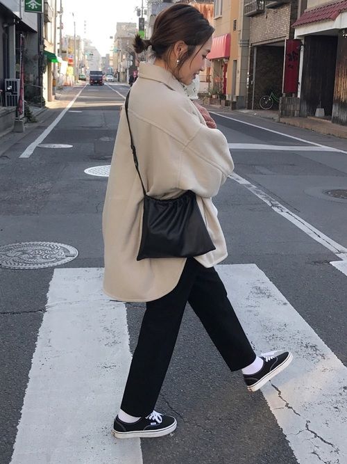 ベージュCPOジャケットを使った【秋】コーデ