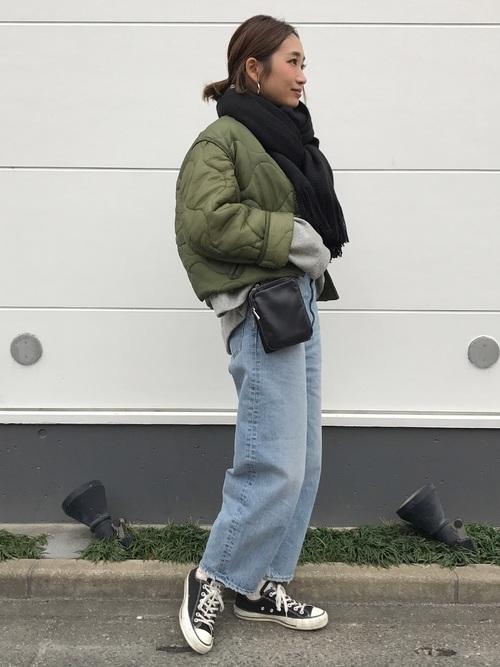 名古屋 2月 服装 パンツコーデ4
