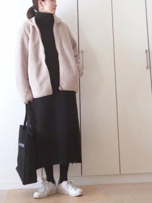 冬 妊婦コーデ20