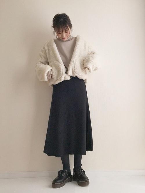 2020年冬トレンドコーデ《スカートスタイル》6