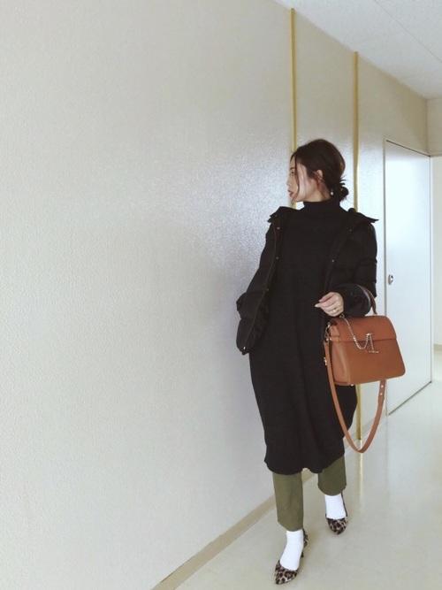 [LADYMADE] 2WAYロングスリットワンピース