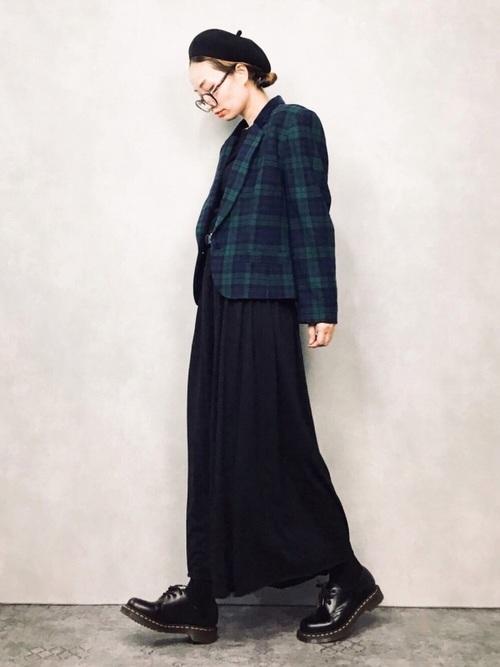 おしゃれ 防寒コーデ スカートスタイル4