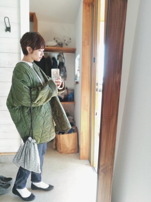 おしゃれ 防寒コーデ パンツスタイル4