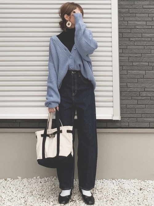 [BLACK BY MOUSSY] PUNA one wash denim