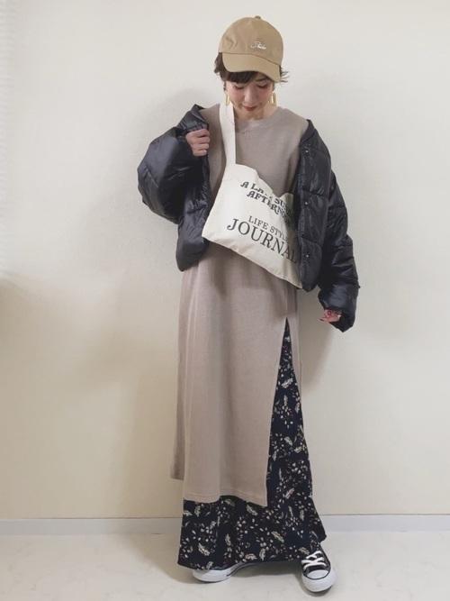 名古屋 2月 服装 ワンピースコーデ5