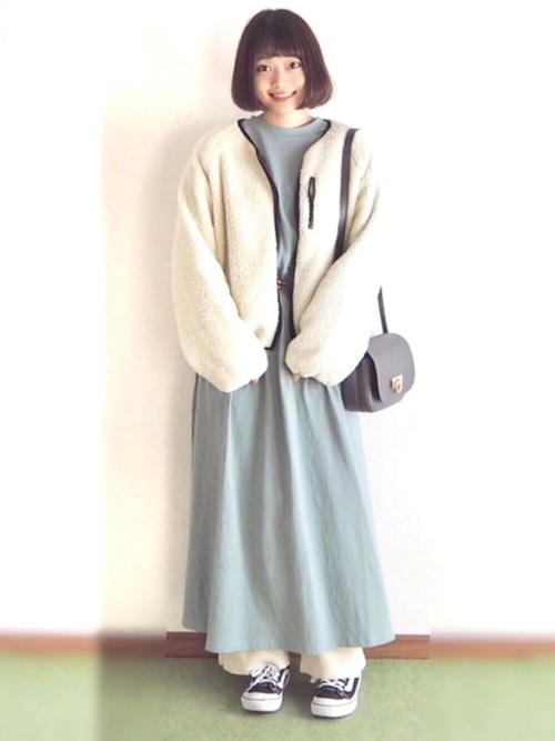 冬 妊婦コーデ11