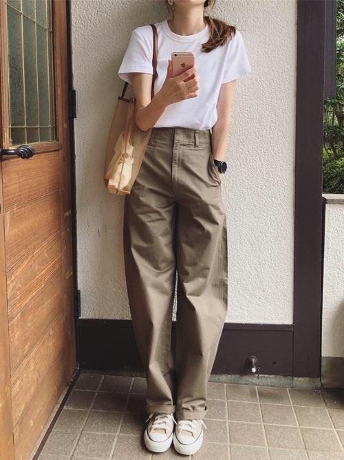 40代 ユニクロ コーデ7