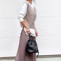 【ユニクロ・GU・ZARA】の秋バッグで作る大人女子コーデ!手元に季節感を♪