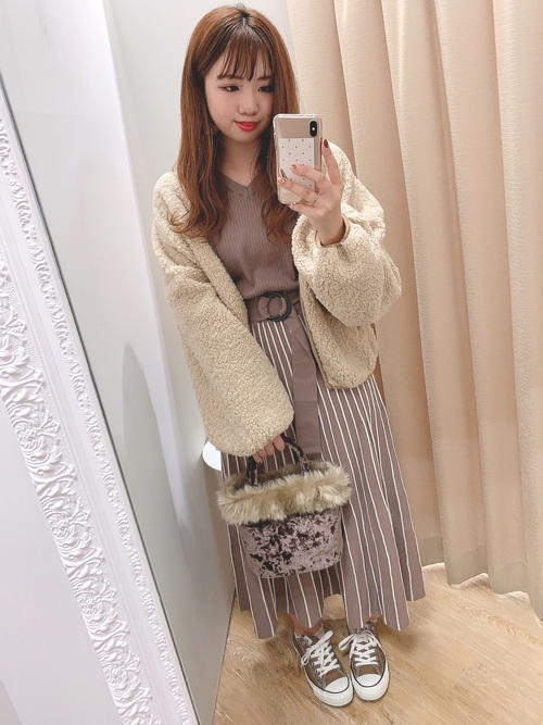 20[natural couture] NEWボアブルゾン