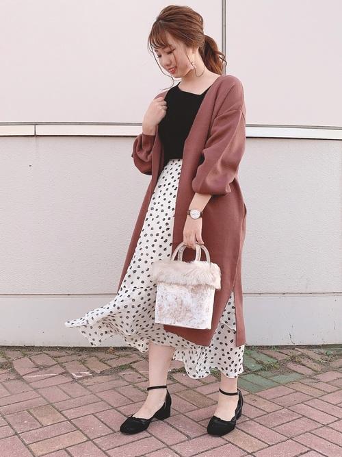 [natural couture] リーちゃんのアシメティアードスカート