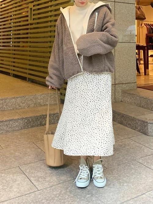 [kobelettuce] マーメードフレアスカート