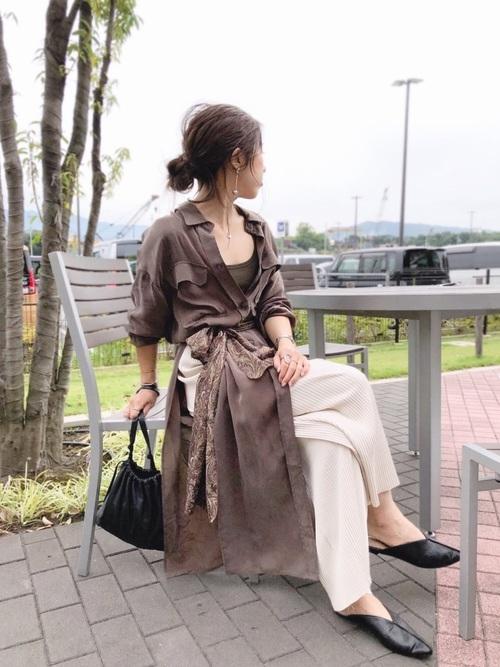 ZARAアイテム×イケメン女子コーデ5