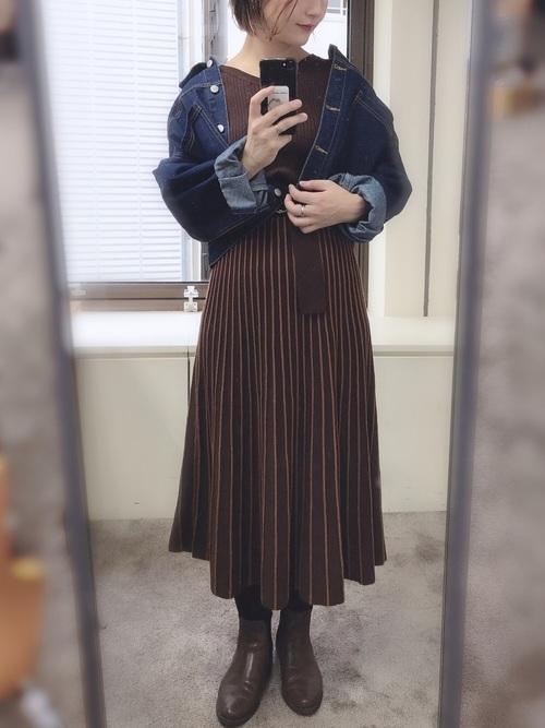 [natural couture] BIGポケットGジャン
