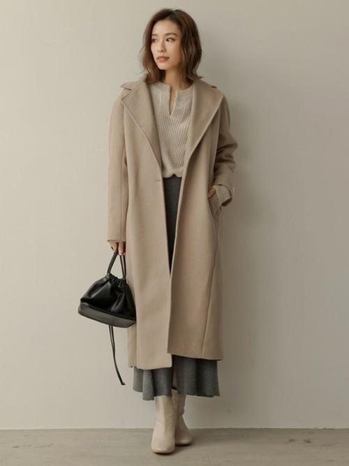 東京 1月 おすすめ 服装 スカートコーデ6