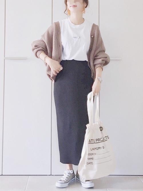 GUスカート×大人女子