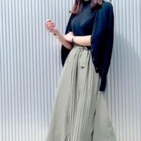 【GU】の大人スカートコーデ!肌寒くても穿きたいのはやっぱりスカート♡