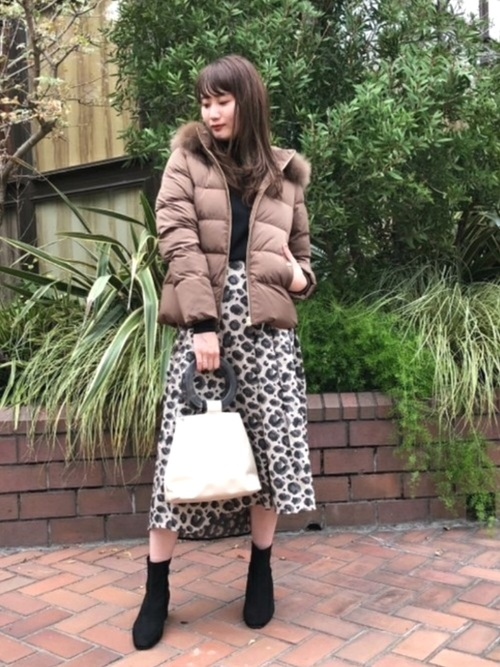 [BEAMS WOMEN] Demi-Luxe BEAMS / FOXファー ショートダウン