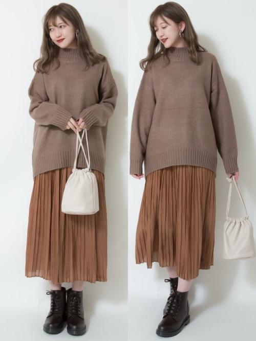 しまむら 秋冬 スカート