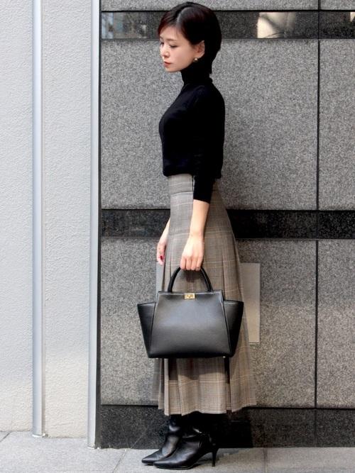 柄スカート4