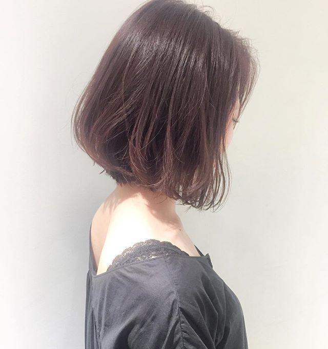 50代女性 人気 髪型 ボブヘア