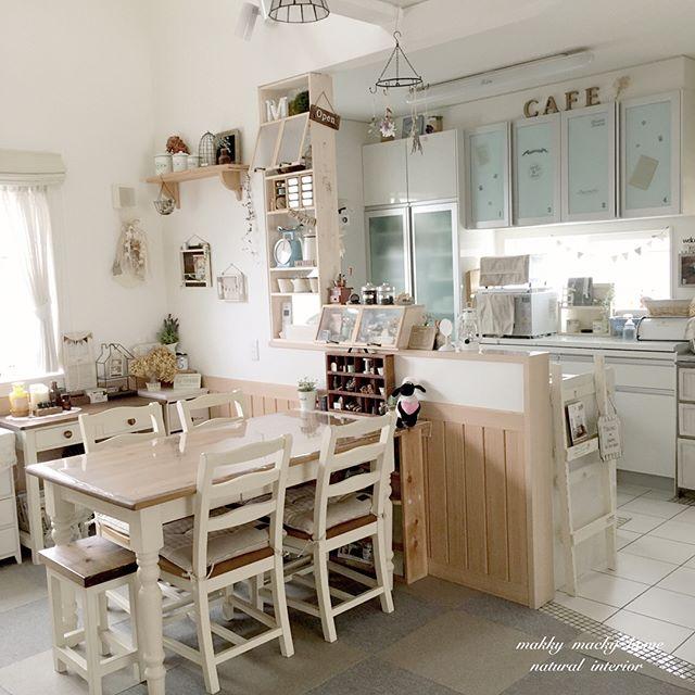 カフェ風 リビングインテリア 家具の選び方7