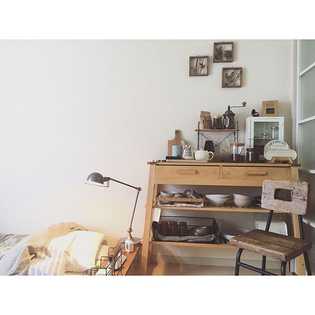 一人暮らし 食器収納 棚