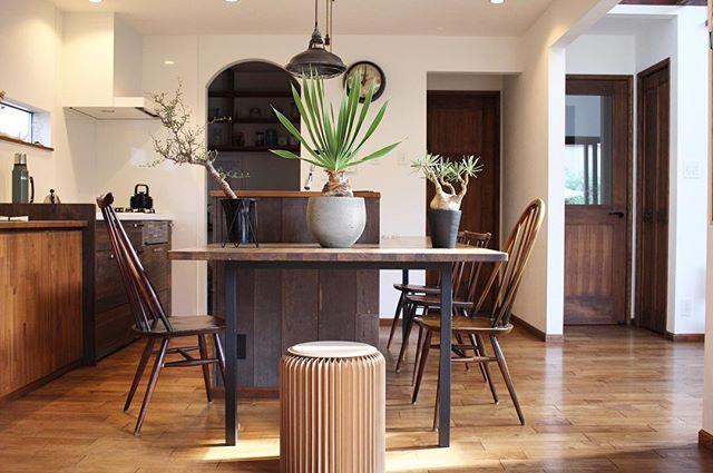 カフェ風 リビングインテリア 家具の選び方